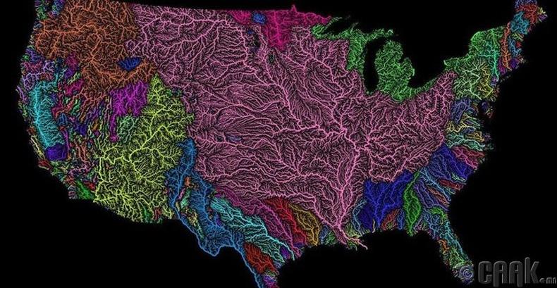 АНУ дахь голуудын ай сав