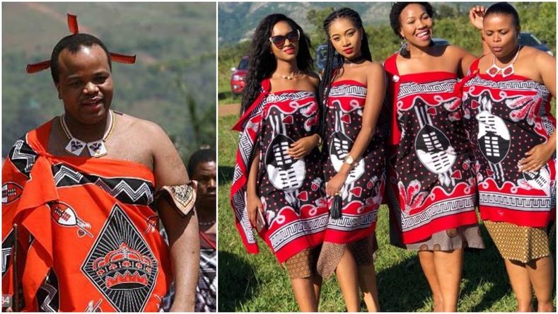 13 хатан, 200 сая доллартай Африкийн бяцхан улсын хааны амьдрал