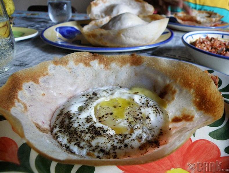 Талхтай өндөг, Шри-Ланк
