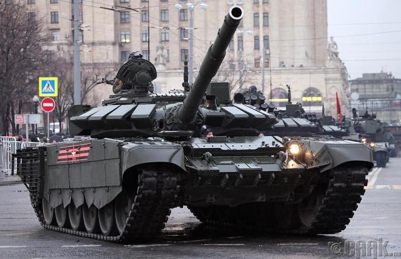 Дэлхийн хамгийн олон танктай улс
