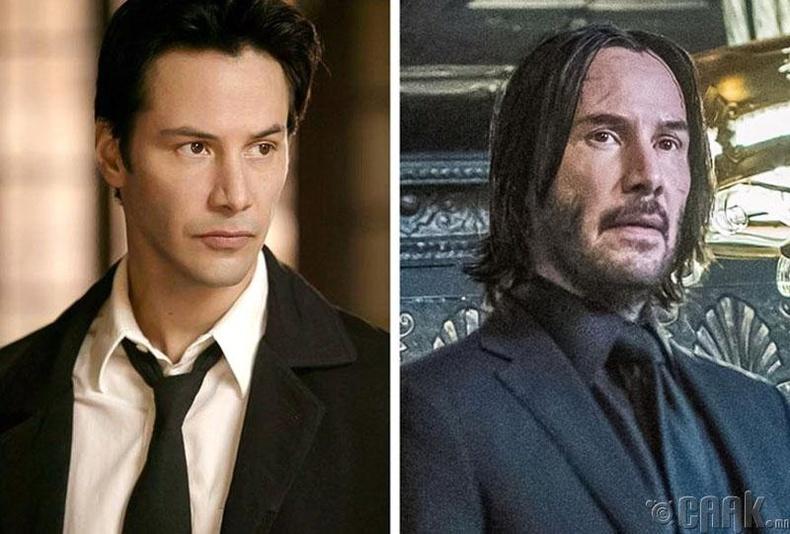 Жүжигчин Киану Рийвз (Keanu Reeves) - 54 настай