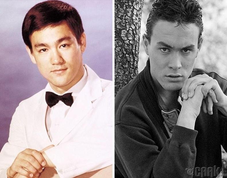 Брьюс Ли (Bruce lee) болон түүний хүү Брэндон Ли (Brandon Lee) нар хоёулаа кино зураг авалтын үеэр нас барсан