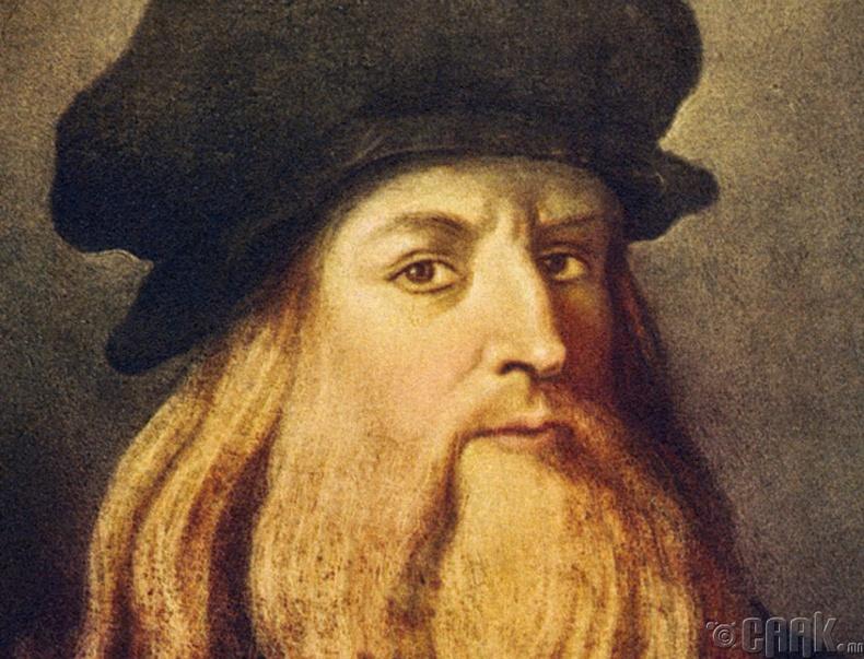 Эрдэмтэн, зохион бүтээгч, зураач Леонардо да Винчи (1452-1519 он)