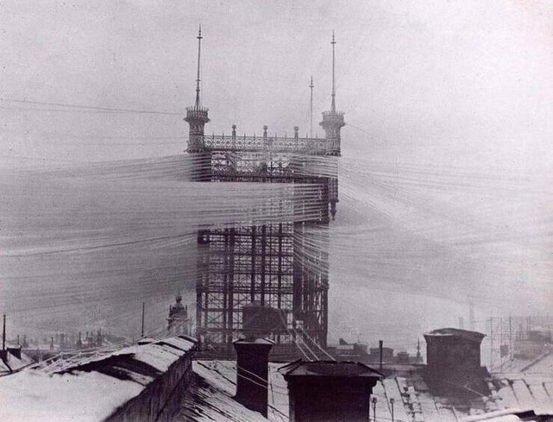 Стокхольм хотын цахилгаан холбооны цамхаг, 1890