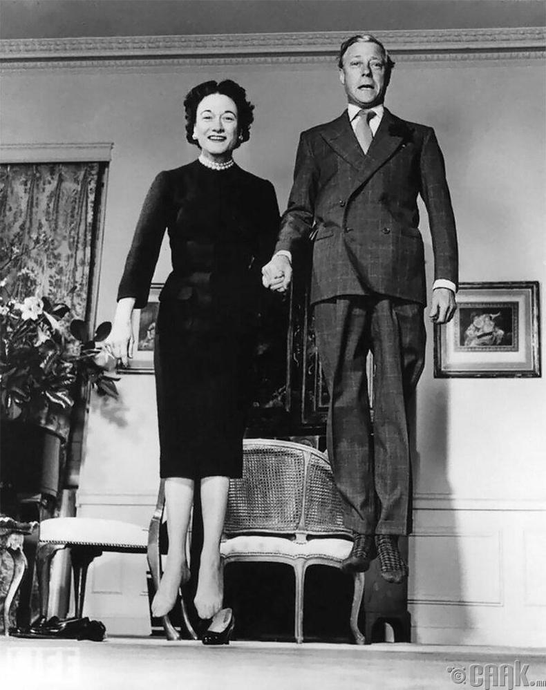 Виндзорын гүн эхнэрийн хамт, 1958 он