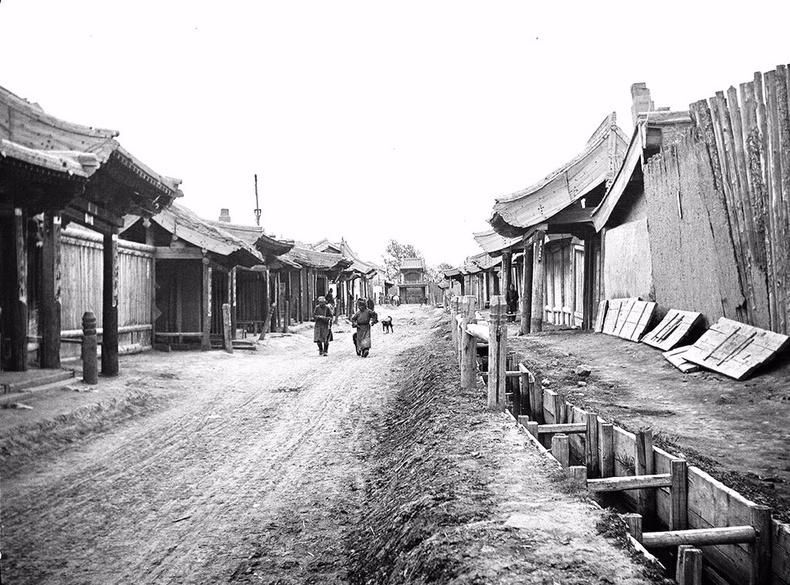 Маймаачин хотын бохирын шуудуу - 1913 он, Их Хүрээ