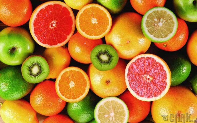 Хүчиллэг жимс