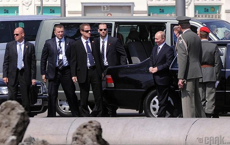 Хамгийн өндөр хамгаалалттай ерөнхийлөгч - Владимир Путин