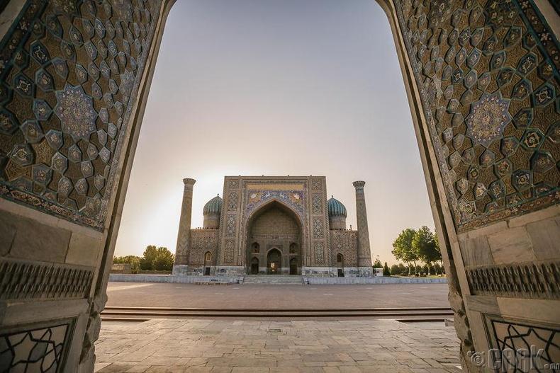 Узбекистан улсаар дайрч байгаа нь