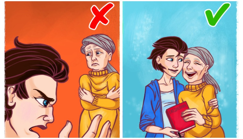 Хөгшин эцэг эхтэйгээ харьцах үедээ дараах зүйлийг анхаараарай!