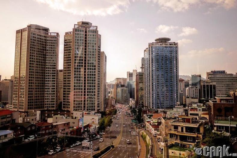 Өмнөд Солонгос - 187 орон