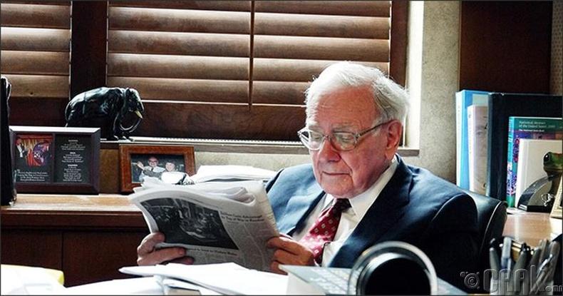 Уоррен Баффетт (Warren Buffet), Aмерикийн бизнесмэн, хөрөнгө оруулагч