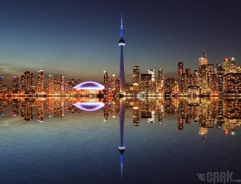Торонто мужид 1 цэнгээний газар тутамд 70 хүн хувиарлагддаг