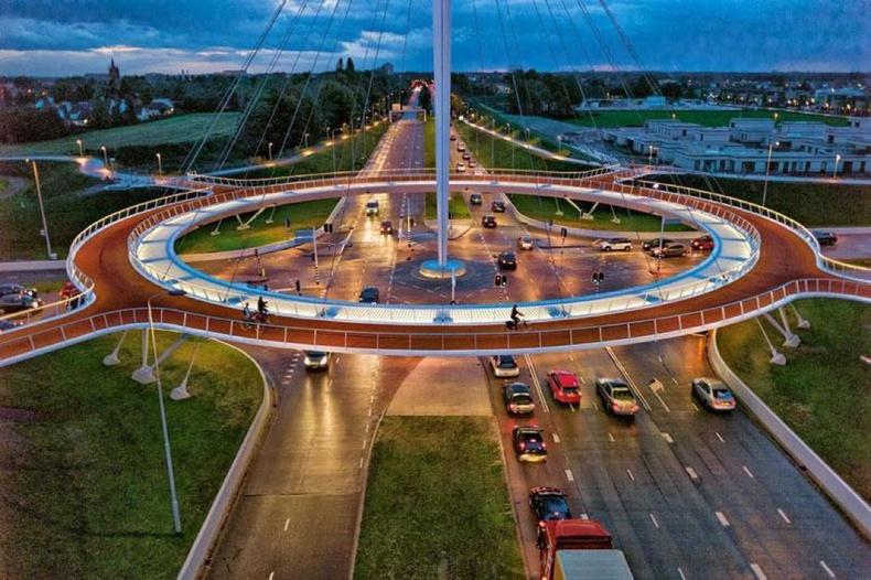 Нидерланд дахь дугуйн замын аюулгүйн тойрог