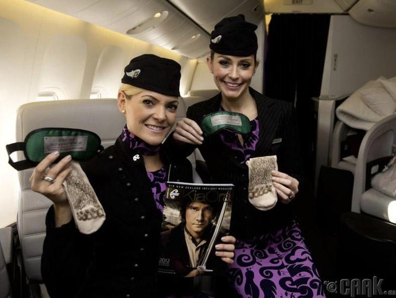 """Air New Zealand"", Шинэ Зеланд"