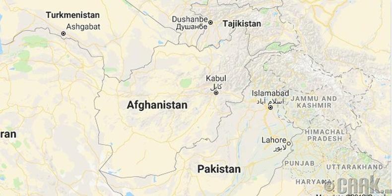 Бид бодохдоо: Афганистан бол Ойрх дорнодын улс
