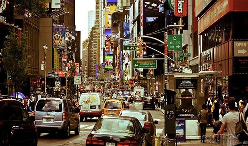 Нью-Йорк (New York) хот, АНУ