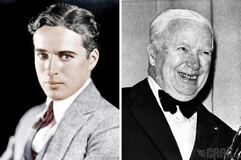 Та Чарли Чаплины хөгширсөн үеийн зургийг харж байсан уу? Тэгвэл энд байна.