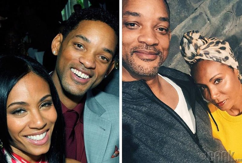 Уилл Смит болон Жада Пинкетт-Смит (Will Smith, Jada Pinkett-Smith)