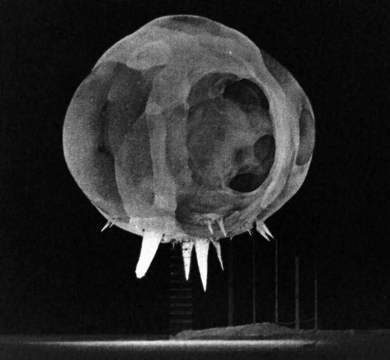 Цөмийн дэлбэрэлтээс 1 мильсекундын дараа
