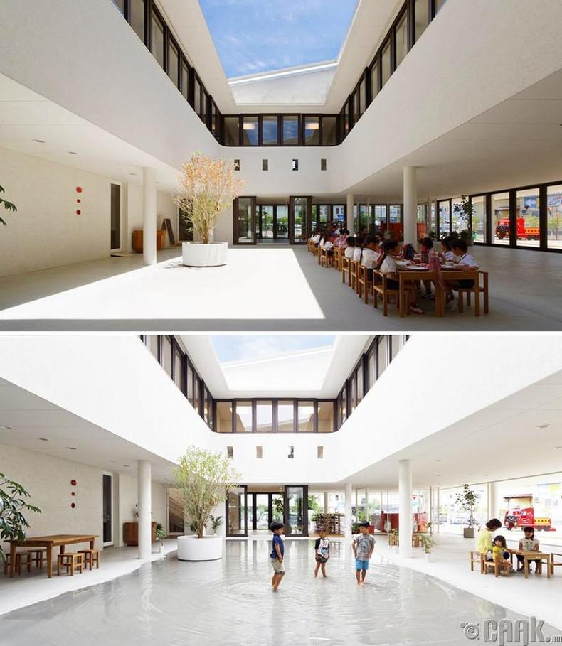 Японы бага сургуулийн барилга