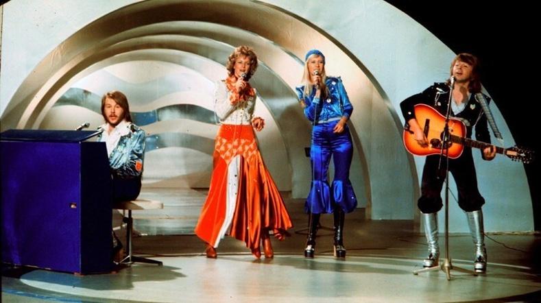 АББА хамтлаг Eurovision тэмцээнд, 1974