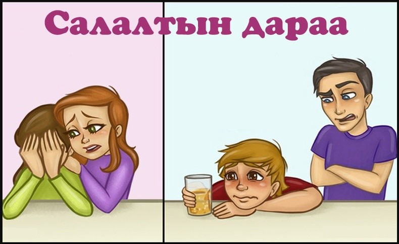 Эрэгтэй эмэгтэй найзуудын ялгаа