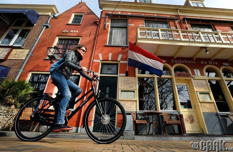 Нидерланд - 186 орон