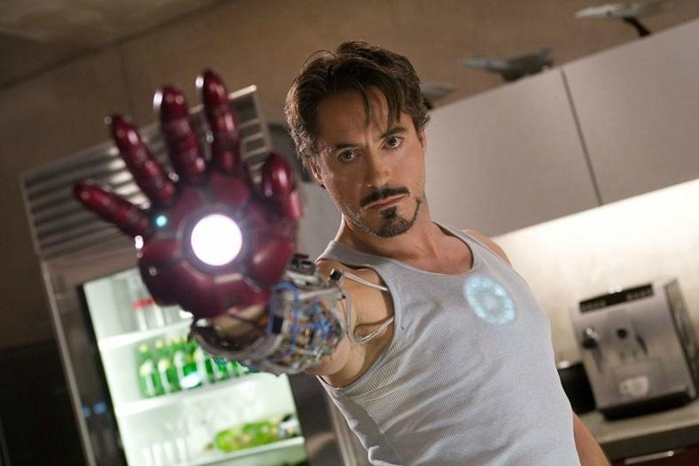 Бага Роберт Дауни (Robert Downey Jr.) — « Iron Man» (2008)