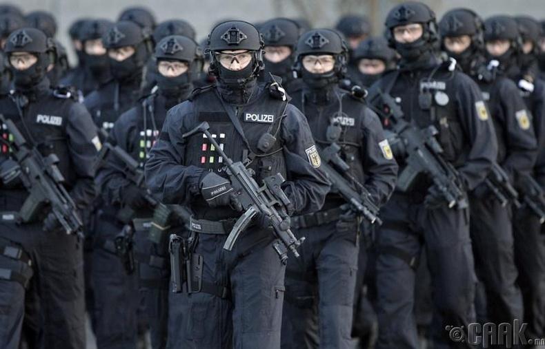 Германы холбооны цагдаа