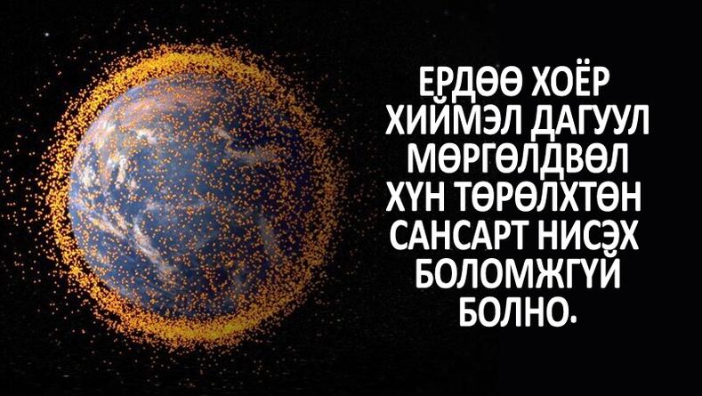 Сансар огторгуйн тухай төсөөлөлд буумгүй 8 баримт