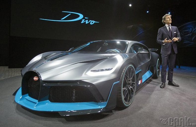 Bugatti Divo. Үнэ 5.8 сая.ам доллар