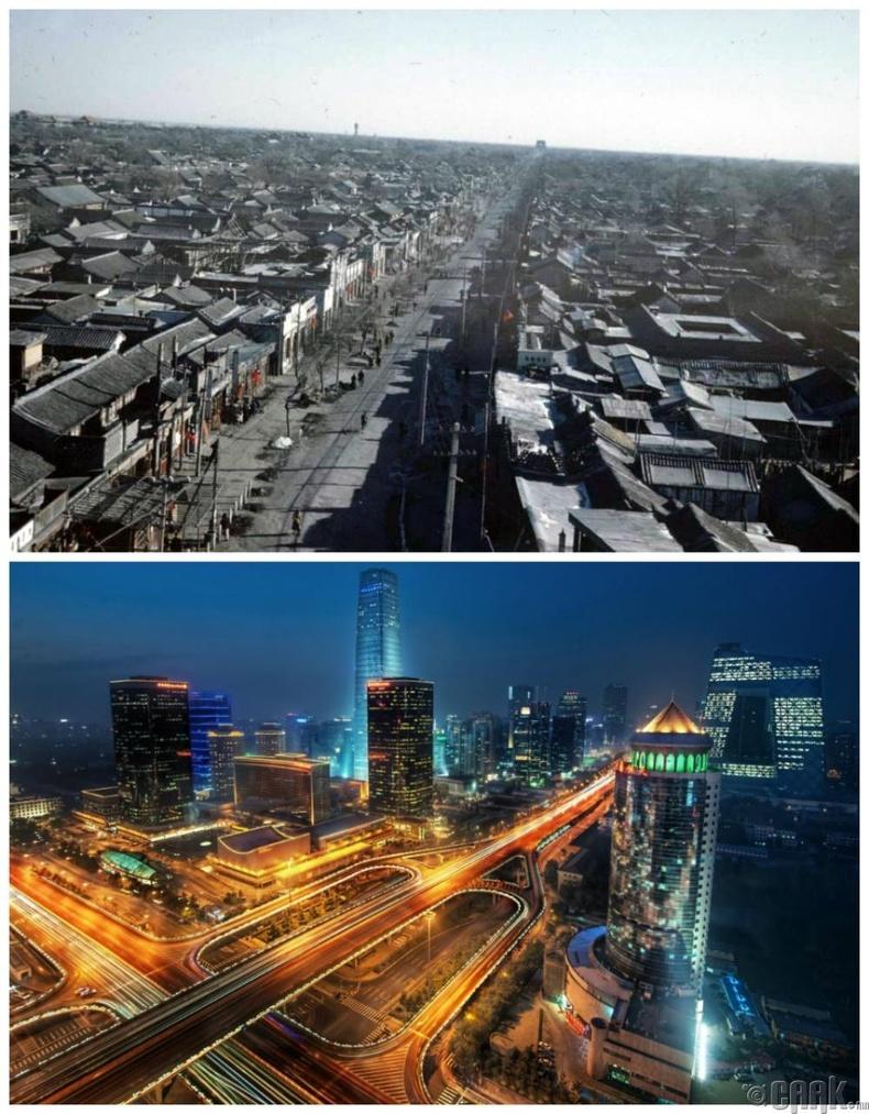 Бээжин, Хятад: 1940 он - Одоо