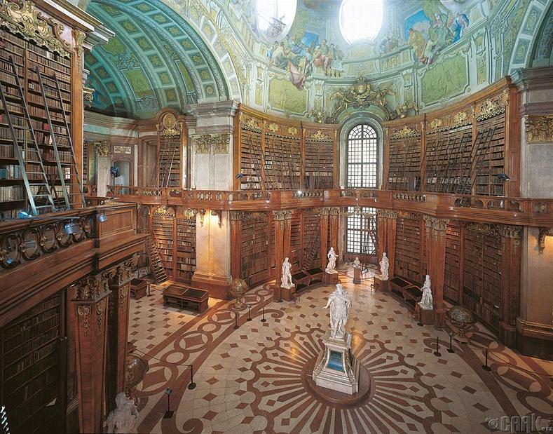 Австрийн Үндэсний номын сан, Вена
