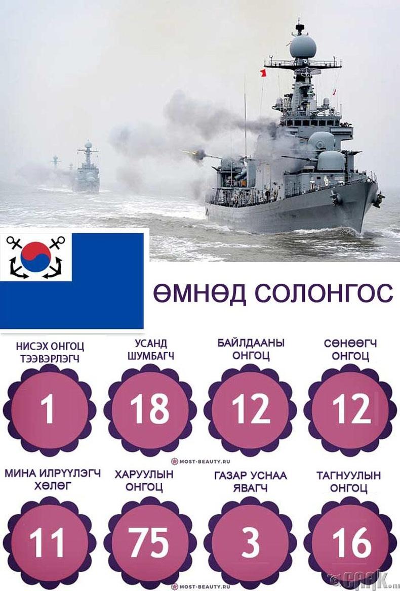 Өмнөд Солонгосын Тэнгисийн цэргийн хүчин