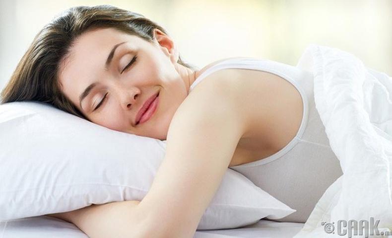 Ачаалал ихсэхэд унтах цагаа нэмэгдүүлээрэй!