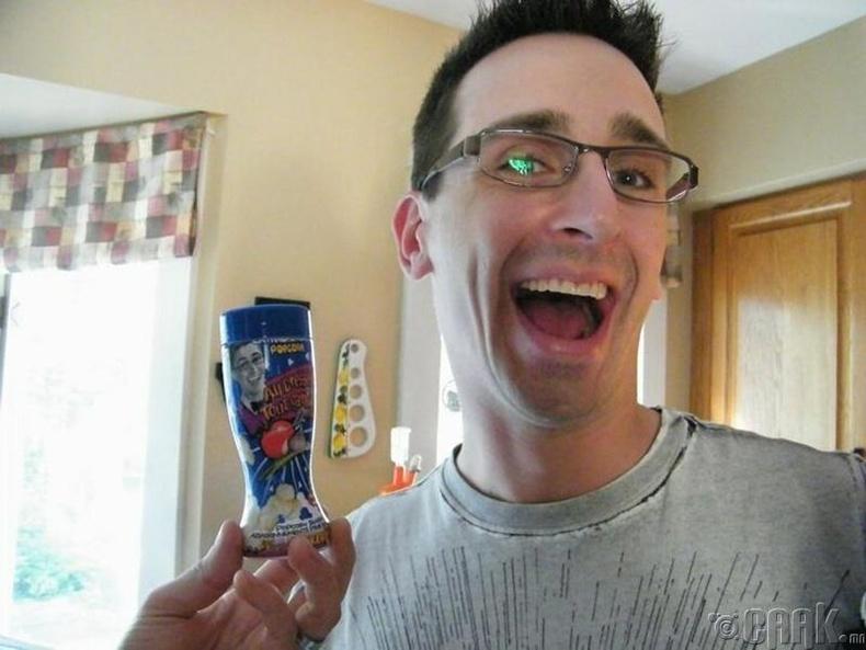 Попкорны саван дээрээс өөрийгөө олжээ