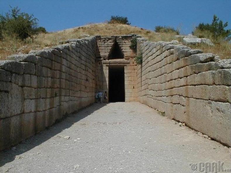 Атреусын эрднэсийн сан, Грек