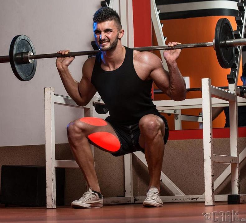 Үндсэн суулт (squat)