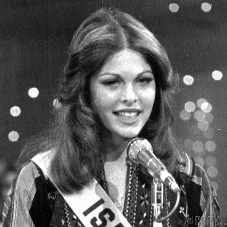 """""""Miss Universe-1976""""-ын ялагч: Израилийн гоо бүсгүй Рина Мессингер, 19 настай, 176 см өндөр."""