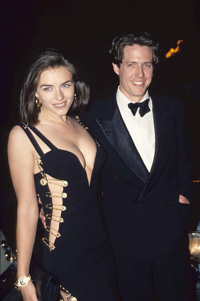 Элизабет Херли болон Хью Грант, Лондон хот, 1994 он.