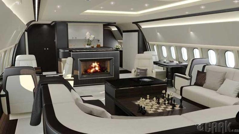 Хувийн хөлөг онгоцны дизайнер