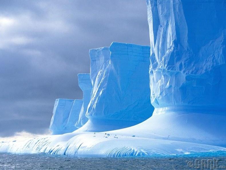 Хайлж буй мөсөн уул