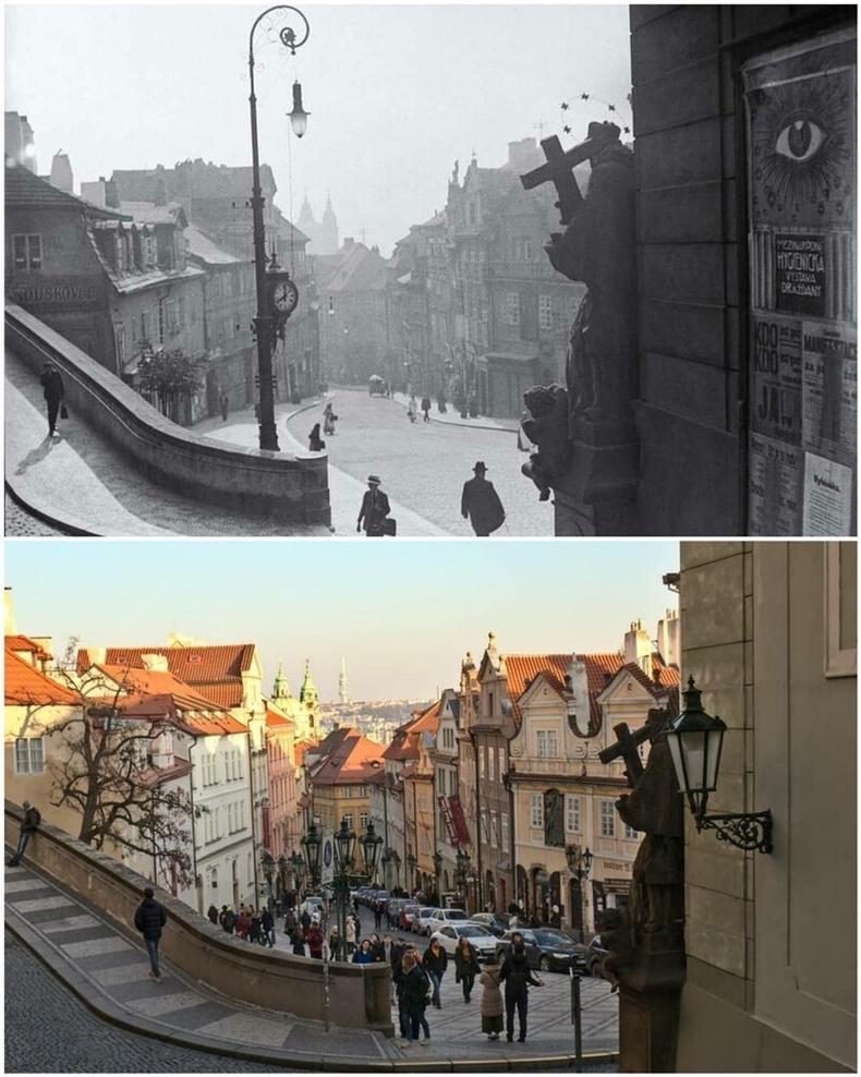 Прага хот - 1910 онд болон 2020 онд