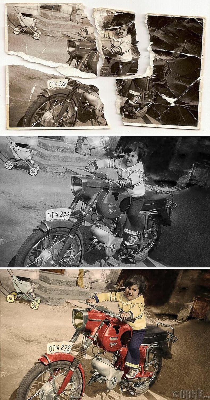 Мотоцикл дээрх хүү, 1960-аад он