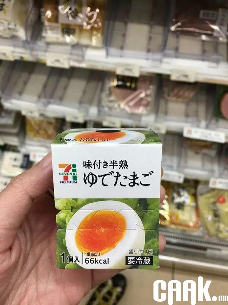 Нэг ширхэг чанасан өндөг