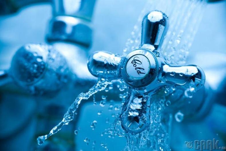 Халуун, хүйтэн ус аль алийг нь ашиглах