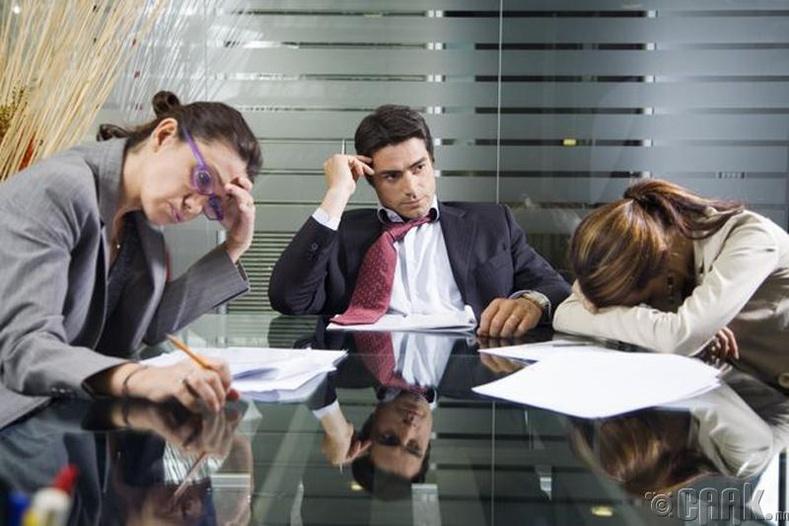 Үр дүнгүй уулзалтаас татгалз