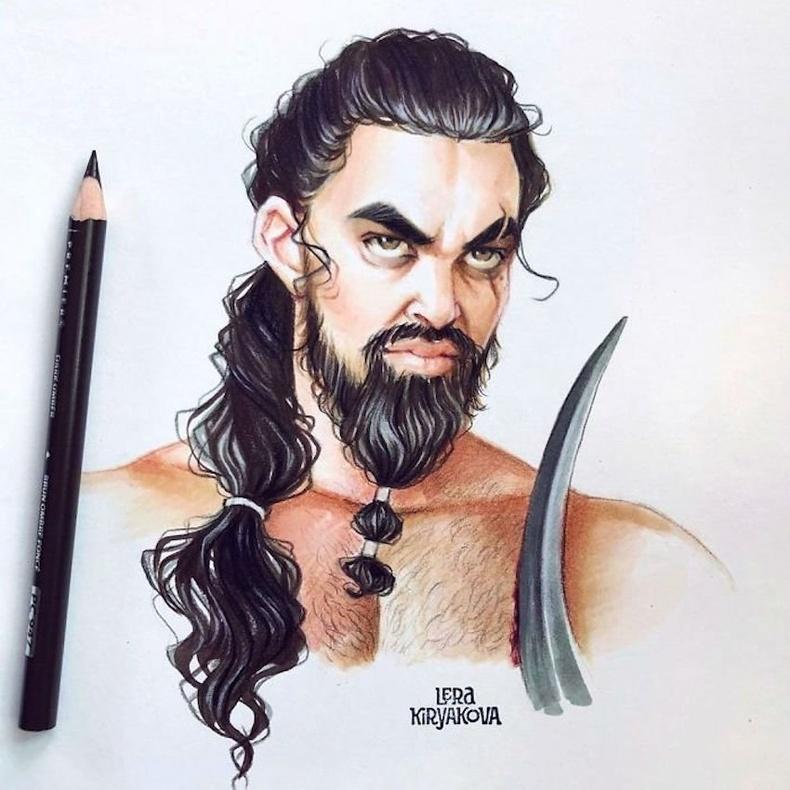 Хал Дрого (Khal Drogo, Game of Thrones)