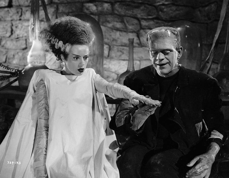 """Bride of Frankenstein"" (1935) - 98%"